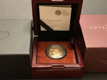 2016 Proof Full Gold Sovereign